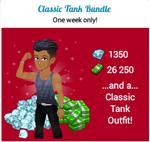Classic tank