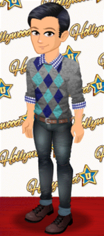 MALE OUTFIT (ARGYLE STYLE)