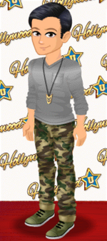 MALE OUTFIT (ACTIVE DUTY CUTIE)