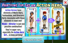Action Hero Partying Tip