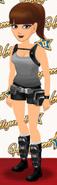 Action Hero Girl level 5
