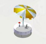 Umbrella Table