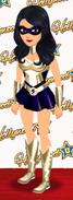 Female superhero level 50