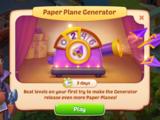 Paper Plane Generator Event
