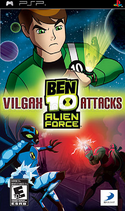 Ben 10 Alien Force Vilgax Attacks (PSP)