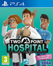 Two Point Hospital - Cover Art