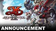 Ys IX Monstrum Nox - Announcement Trailer (PS4, Nintendo Switch, PC)