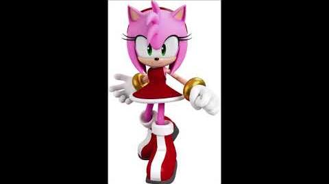 Sonic Forces - Amy Rose Voice Sound