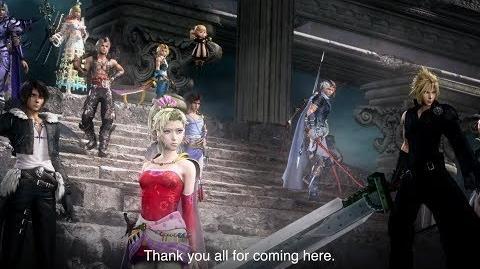 Dissidia Final Fantasy NT - TGS 2017 Trailer
