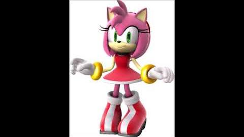 Sonic Unleashed - Amy Rose Voice Sound