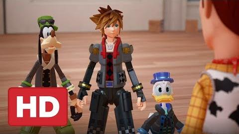 Kingdom Hearts III - Theme Song Announcement Trailer