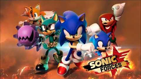 Sonic Forces - Voice Clips (English)