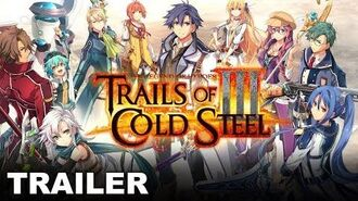 The Legend of Heroes Trails of Cold Steel III - Old Friends - E3 Trailer (PS4)