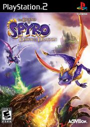 The Legend of Spyro- Dawn of the Dragon