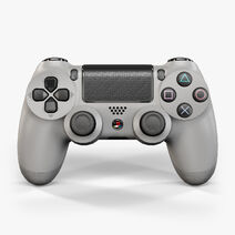 Sony-playstation-4-controller-grey-20th-anniversary-edition-3d-model-low-poly-max-obj-fbx-ma-mb-dae-mtl