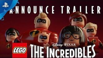 LEGO The Incredibles - Announce Trailer PS4