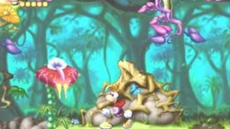 Rayman 1 Level 1 Pink Plant Woods (PS1)