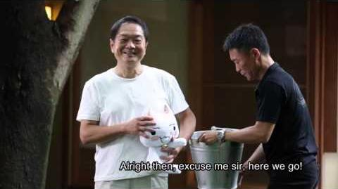 Ken Kutaragi Playstation creator and Kazunori Yamauchi GT Ice bucket challenge 4 ALS!