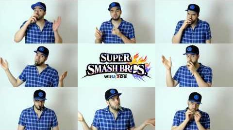 Super Smash Bros WiiU 3DS Main Theme ... KAZOO'd !