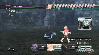 Hyperdimension Neptunia ENGLISH - Battle Gameplay HD
