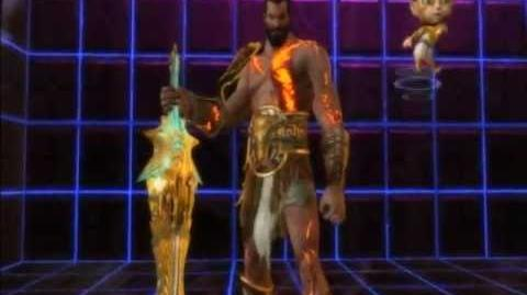 Playstation AllStars Battle Royale - Kratos's Colors (Preorder Costume)