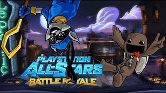 PlayStation All-Stars Battle Royale History (Remastered) - Paris (stage)