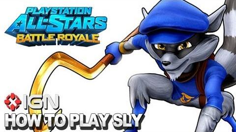 How to Use Sly Cooper in PlayStation All-Stars Battle Royale