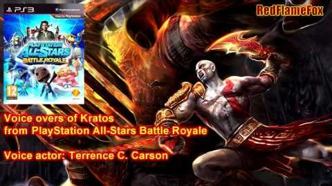 PlayStation All Stars Battle Royale Kratos Voice Over