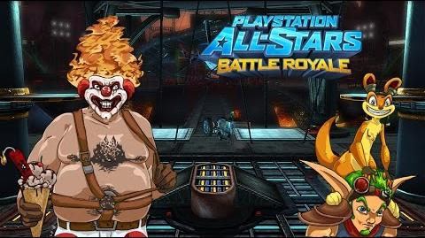 PS All-Stars Battle Royale History - Black Rock Stadium (stage)