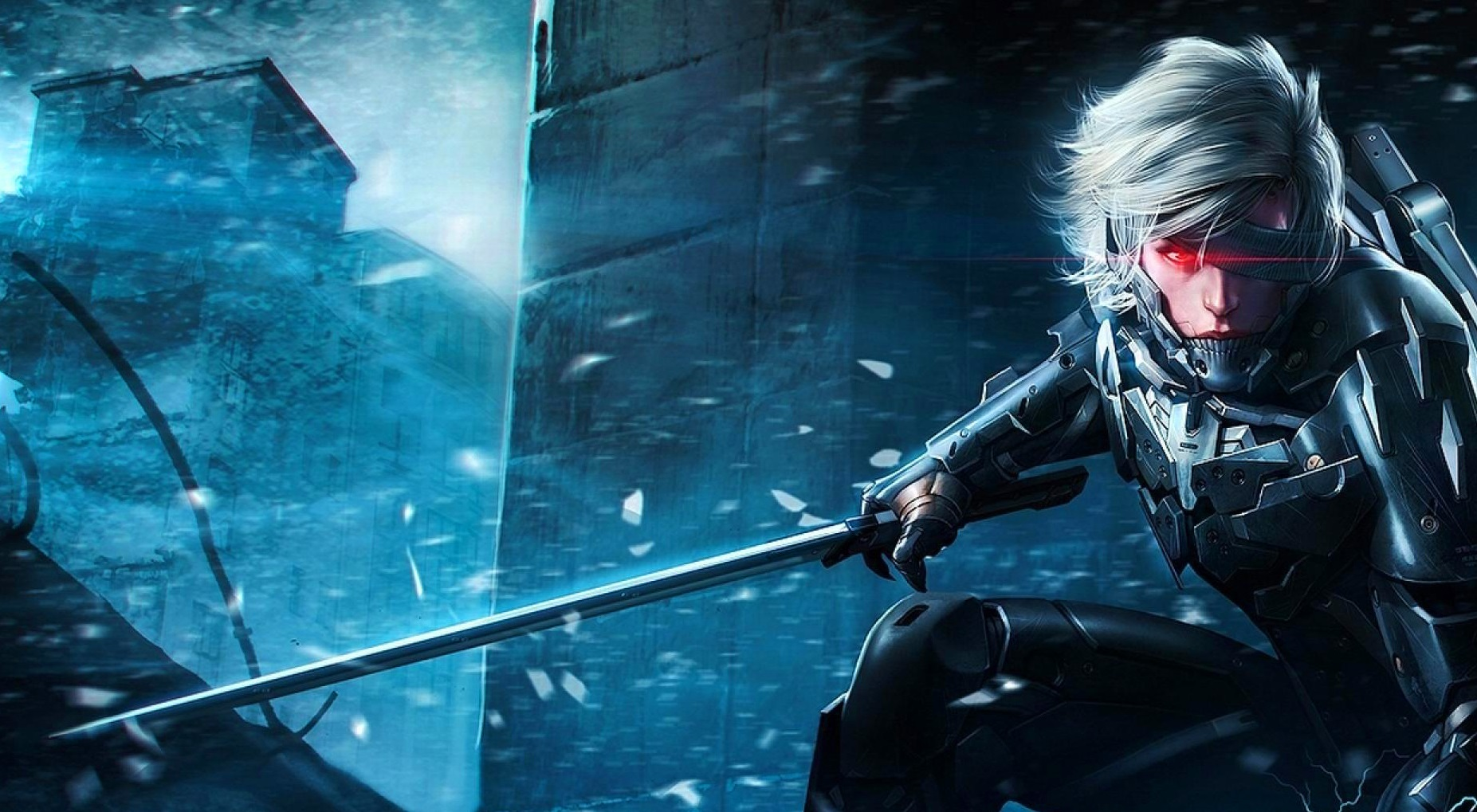 Image metal gear rising revengeance wallpaper hdg playstation metal gear rising revengeance wallpaper hdg voltagebd Image collections