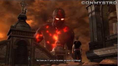 InFAMOUS 2 - Evil Karma Cole Ending HD