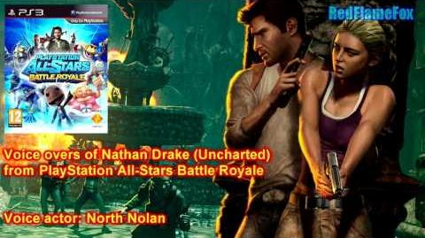 PlayStation All Stars Battle Royale Nathan Drake Voice Over