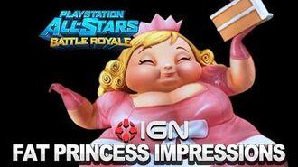 PlayStation All-Stars First Impressions Fat Princess