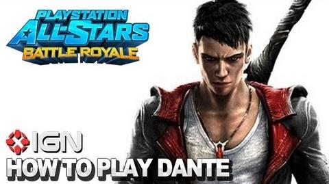 How to Use Dante in PlayStation All-Stars Battle Royale