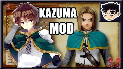 SATOU KAZUMA OUTFIT - DRAGON QUEST XI MOD SHOWCASE - Konosuba - Special K