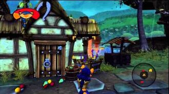 Sly Cooper Thieves in Time More Carmelita Fox Gameplay (My 4yr old girl playing)