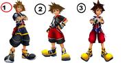 Sora costumes