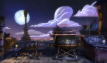 Paris before the invasion of LittleBigPlanet