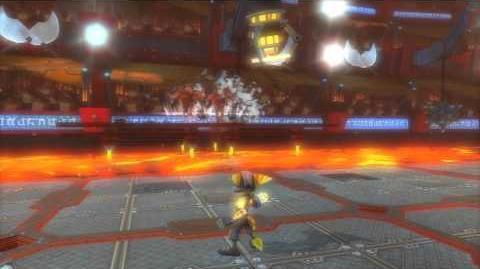 Ratchet and Clank A Crack in Time 09 ~ (Ratchet) Agorian Battleplex (Bronze)