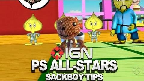 Seth Killian's Sackboy Walkthrough - PlayStation All-Stars