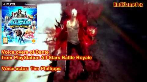 PlayStation All-Stars Battle Royale Dante Voice Over-0