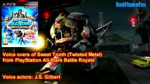 PlayStation All Stars Battle Royale Sweet Tooth Voice Over