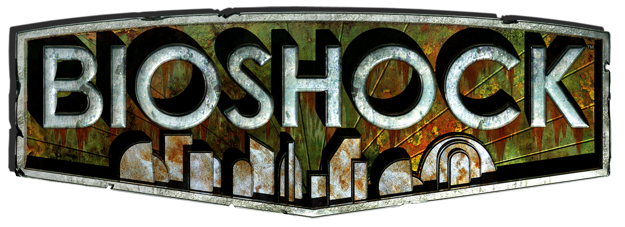 Image result for bioshock text png