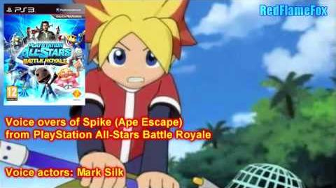 PlayStation All Stars Battle Royale Spike Voice Over