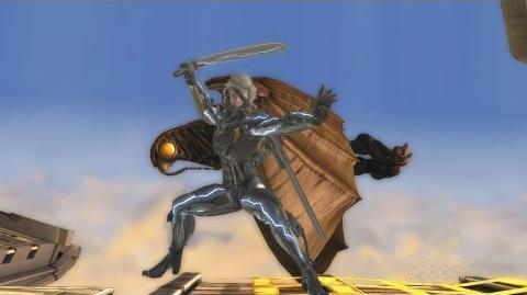 Raiden PlayStation All-Stars Battle Royale