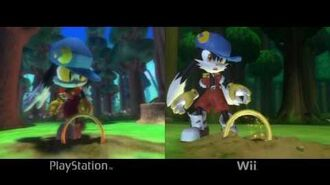 Klonoa PlayStation VS Wii comparison