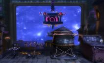 Paris during the invasion of LittleBigPlanet