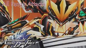 All Fang's Skills and Magic Attacks Compilation - Fairy Fencer F Advent Dark Force English, HD
