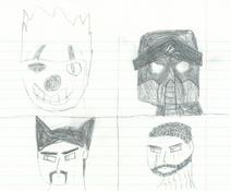 Four Villains Nkstjoa