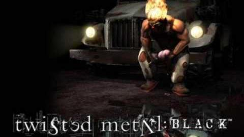 Twisted Metal Black Main Menu